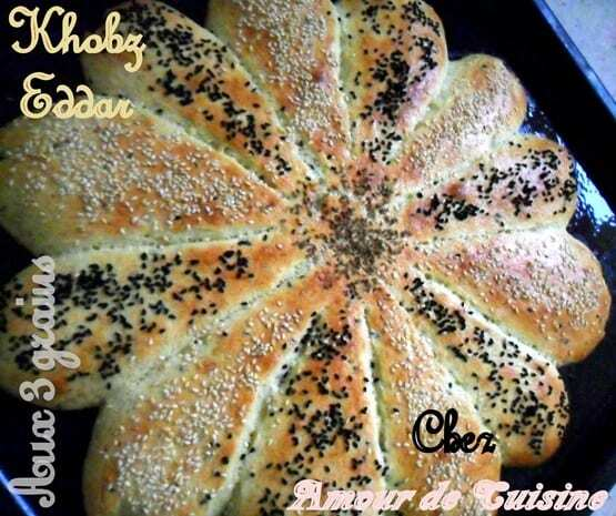khobz eddar - pain fait maison