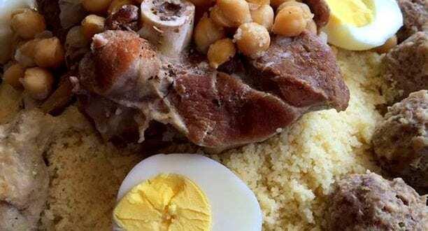 mhawer couscous canstantinois a la viande hachée