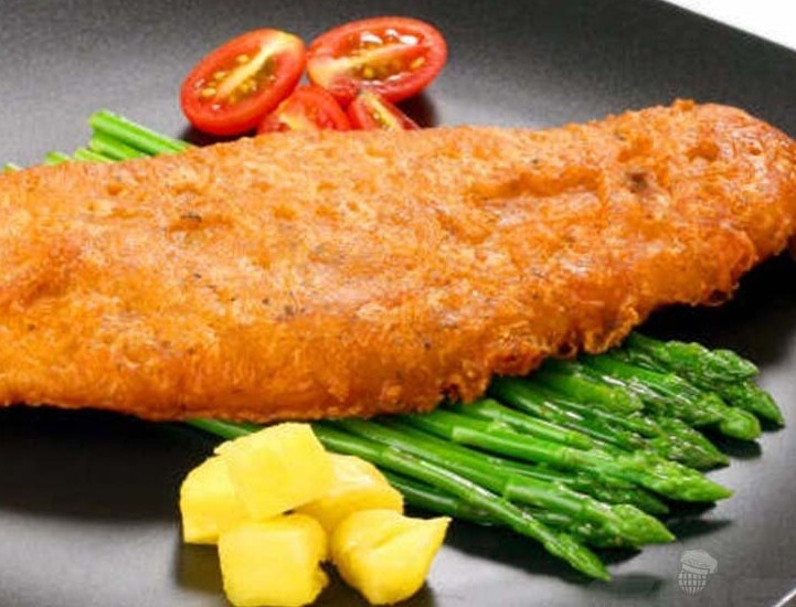 Filetes de Peixe Panadas