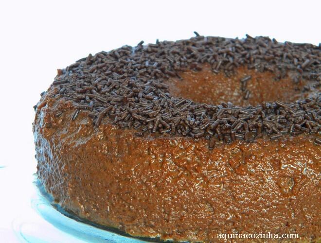 Brigadeirão, uma delícia para o fim de semana