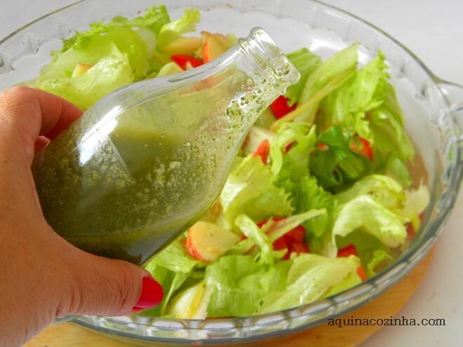 Molho de Hortelã Para Salada