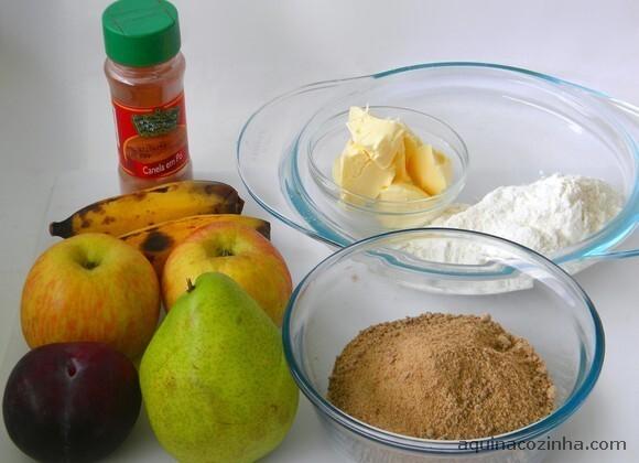 Receita de Crumble de Frutas