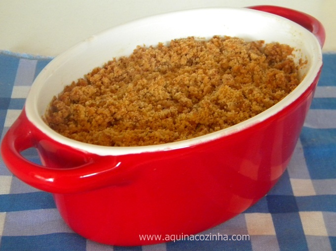 Crumble de Banana