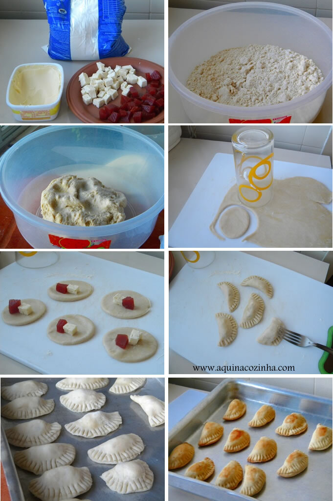 recheio para pastelzinho assado para festa