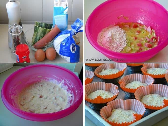 muffin salgado abobrinha