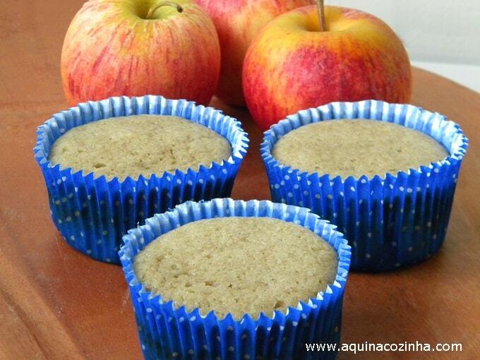 Muffin de casca de maçã