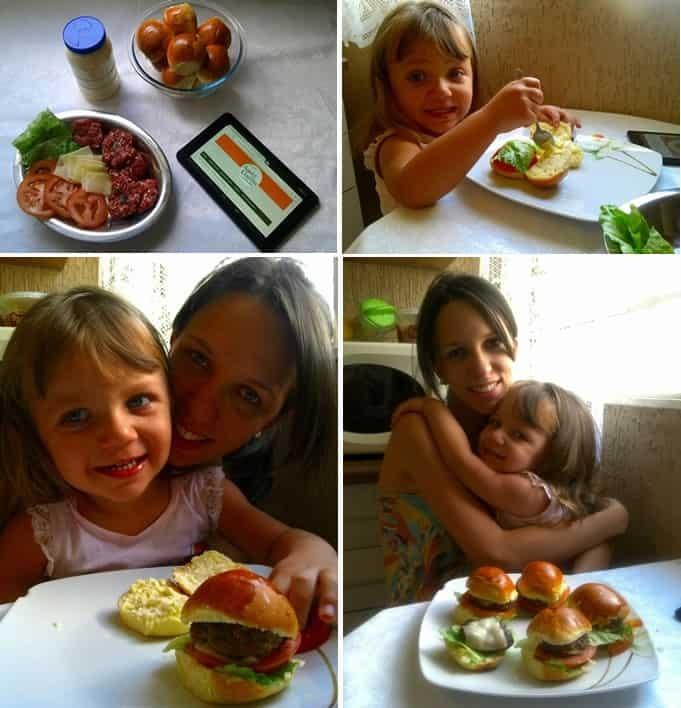 Cheeseburger caseiro da Jake e da Laura