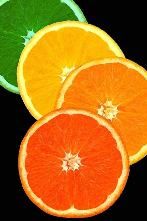 Citrus Slice - use any citrus fruit in this delicious slice