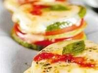 Minipizzas de zapallitos a la albahaca