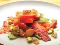 Ensalada de zanahoria gratinada