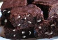 Brownies de cacao amargo