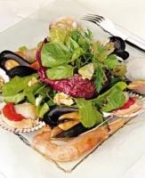 Ensalada de frutos de mar