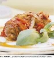 Chorizos a la pomarola gourmet