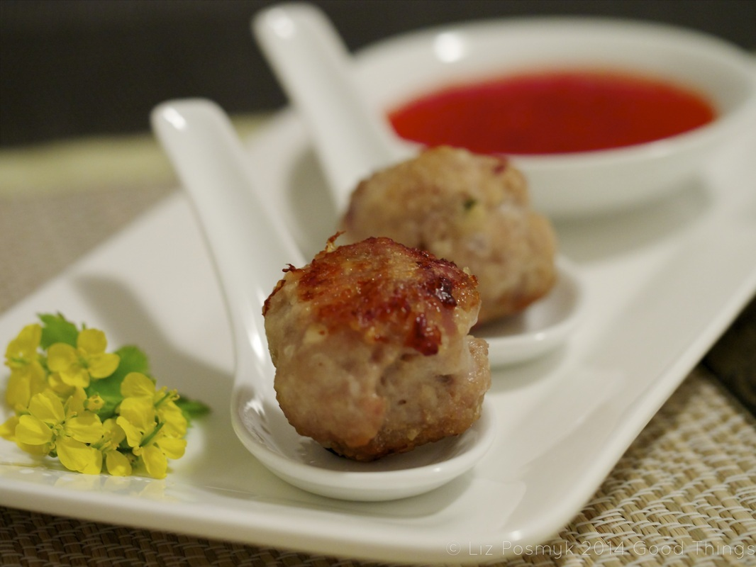 Thai pork and chicken rissoles
