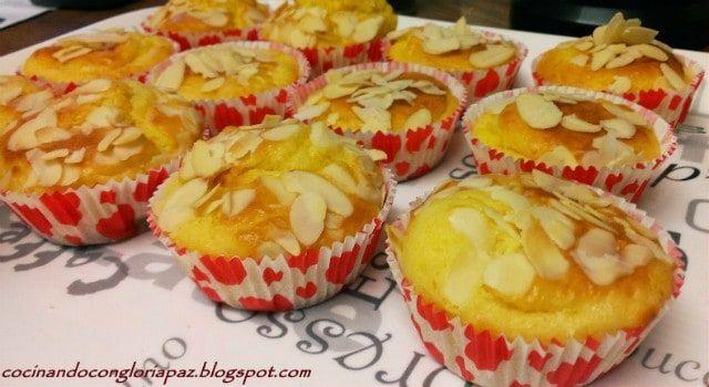 Magdalenas de limón | Una exquisita tentación