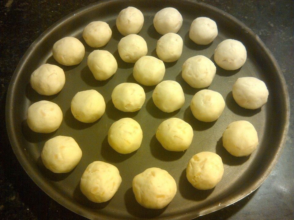 Chipá o pancitos de queso al estilo argentino