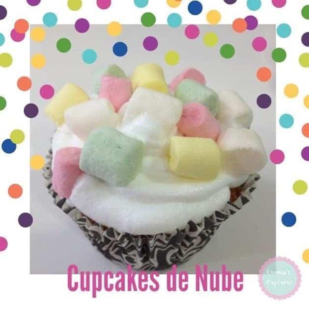 Cupcakes de Marshmallows (nubes)