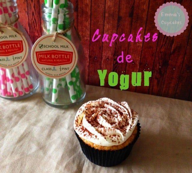 Cupcakes de yogur fáciles y tentadores