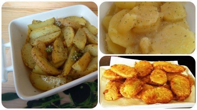 3 Recetas de patatas para hacerlas todas