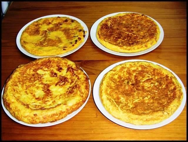 Tortillas de patata diferentes 1, recetas caseras