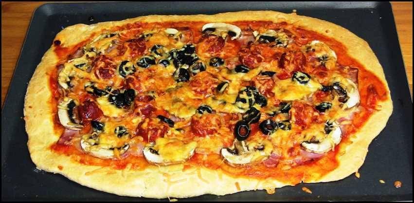 Pizza Riojana, receta casera