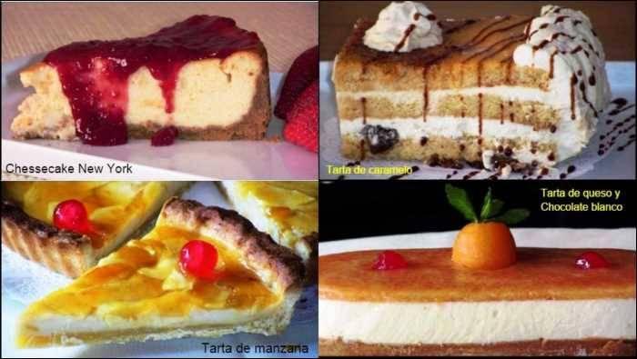 Tartas caseras, mis 6 tartas favoritas