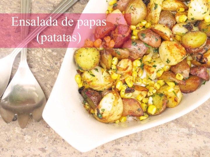 Ensalada de Papas o Patatas