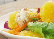 Ensalada con Naranja y Betabel