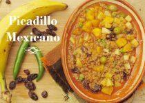 Picadillo mexicano de res o ternera