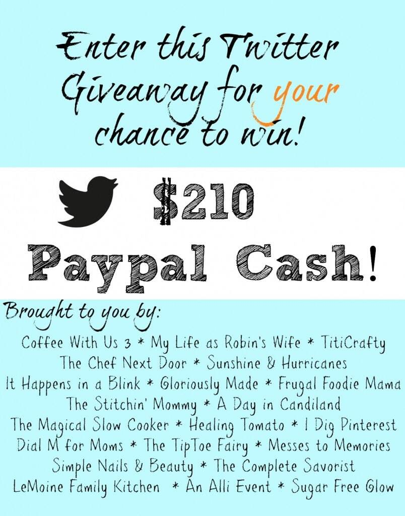 $210 Paypal Cash Giveaway!!!