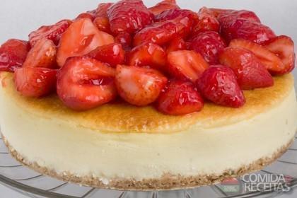 Receita de Cheesecake delícia