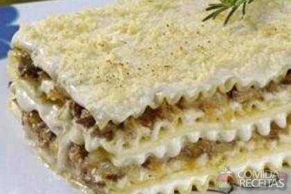 Receita de Lasanha de lombo com abacaxi