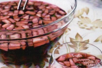 ponche simples de vinho