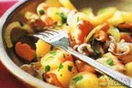 Receita de Salada dos pescadores com batata