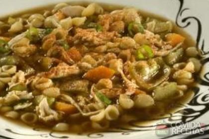 Receita de Sopa oriental
