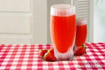 Receita de Borbulha de morango