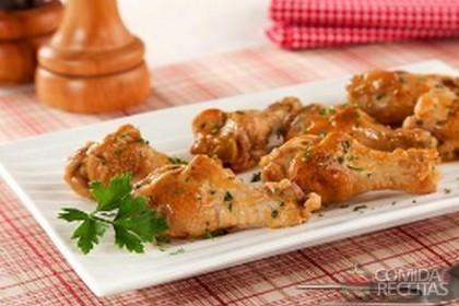 Receita de Coxinha de frango simples