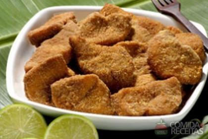Receita de Empanado de peixe