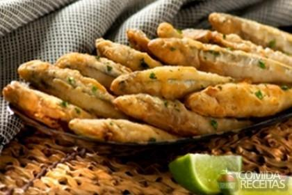 Receita de Manjubinha frita