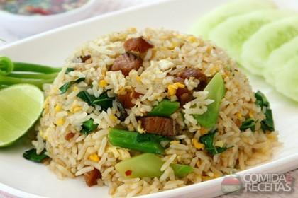 Receita de Arroz frito vietnamita