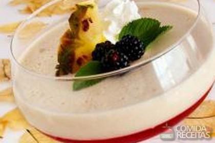 Receita de Delícia de gelatina com cream cheese