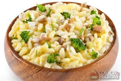 Receita de Risoto de brócolis