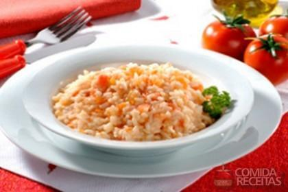 Receita de Risoto de tomate