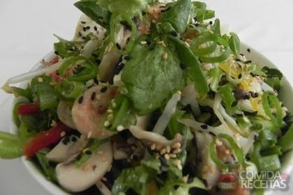 Receita de Salada oriental do Novotel