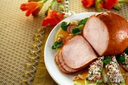 Receita de Tender chester com salada de endívia