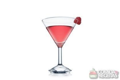 Receita de French Martini