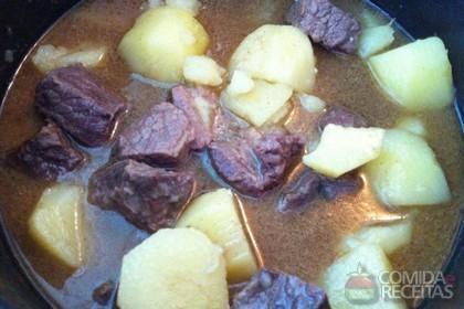 Receita de Coxão duro com batata