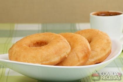 Receita de Donuts em anel