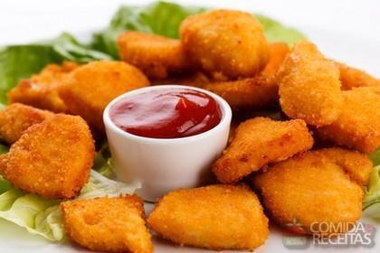 Receita de Nuggets de frango delicioso