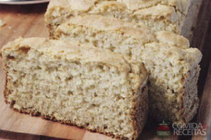 Receita de Pão de milho diet
